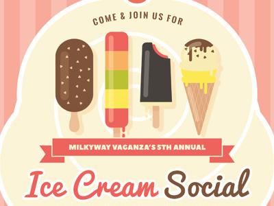 ice cream social flyer templates by kinzi wij dribbble dribbble