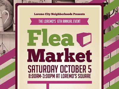 flea market flyer templates by kinzi wij dribbble