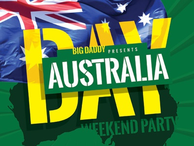 australia day flyer templates by kinzi wij dribbble