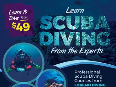 Scuba Diving Flyer Templates By Kinzi Wij Dribbble