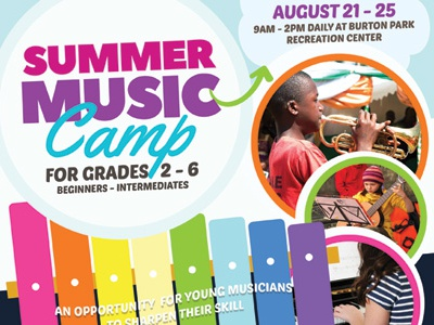 Summer Music Camp Flyer Templates by Kinzi Wij | Dribbble ...