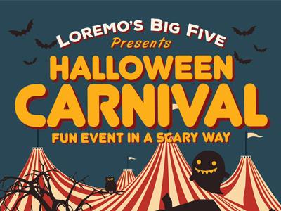 Halloween Carnival Flyer Templates by Kinzi Wij - Dribbble