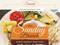 Sunday Brunch Flyer Templates