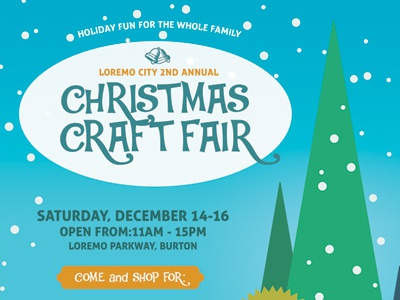 Christmas Craft Fair Flyer Templates By Kinzi Wij Dribbble Dribbble