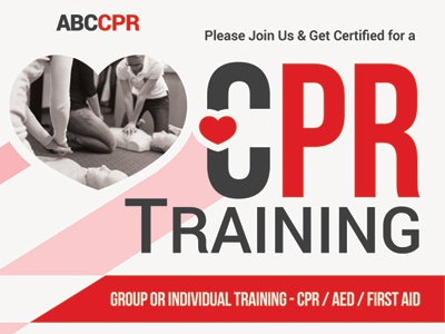 Cpr Training Flyer Templates By Kinzi Wij Dribbble