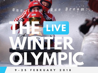Winter Olympic Flyer Templates winter sporting event sportbar sport bar sport pyeongchang 2018 paralympic olympic games flyer ad
