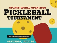 Pickleball Tournament Flyer Templates