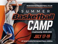 Basketball Camp Flyer Templates