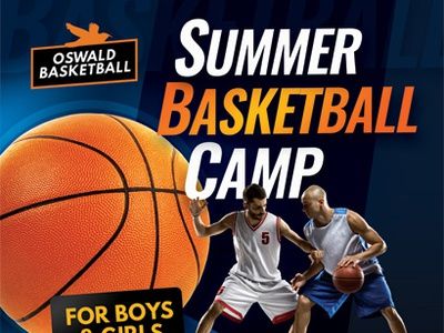 Basketball Camp Flyer Templates youth training teens summer sport skill players kid holiday flyer children camp basketball ad