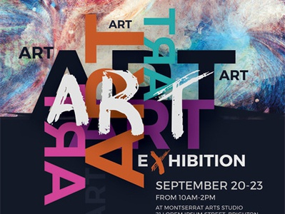 Art Event Flyer Templates By Kinzi Wij On Dribbble