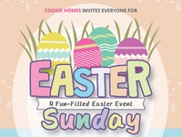 Easter Sunday Flyer Templates