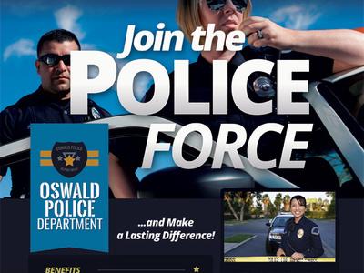 Police Recruitment Flyer Templates vacancy security recruitment recruiting police personnel officer flyer employment crime ad