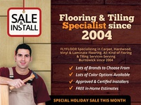Flooring & Tiling Company Flyer Templates