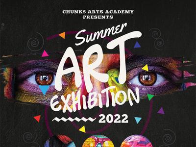Art Event Roll-up Banner Templates