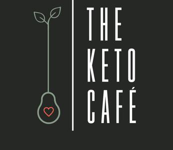 theketocafe logo darkgreen 1 illustration creative vector design keto cafe logo restaurant branding avocado art logo