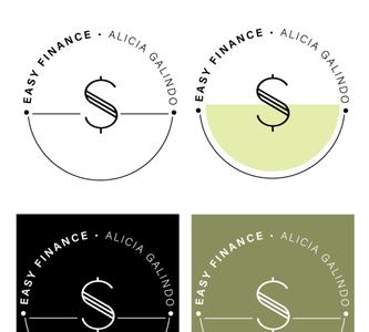Easy Finance Logo - Round 1 branding design branding web education finance logo