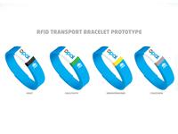 RFID Public Transport Bracelet