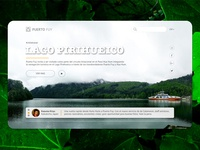 Puerto Fuy Landing page