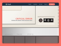 404 retro error
