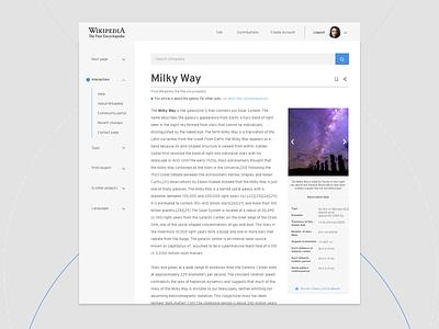 Wikipedia readability exercise design sketch design patterns readability wikipedia desktop ui