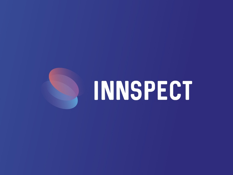 INNSPECT WORMHOLE LOGO illustrator vector branding illustration logo design