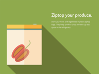 Food Storage Tips - Ziptop your produce