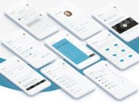 Teamwrk. Mobile UI