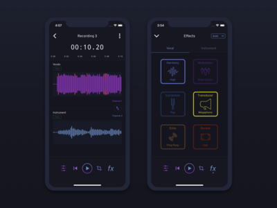 Go Record - Audio Effects