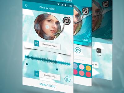 Music-Video App nativeapps illustrator mobileapps musicapp adobephotoshop apptunix