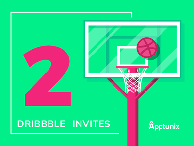 Dribbble Invite   2x players draftee illustrator photoshop invitation dribbble apptunix