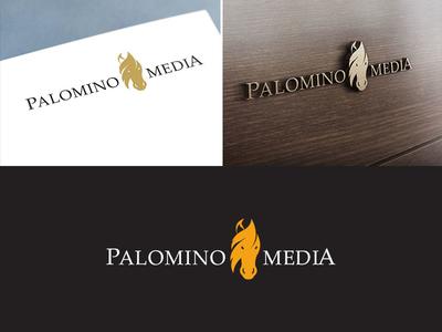 Palomino Media ui ux designing iterations adobephotoshop illustrator graphicdesign media palomino logo apptunix