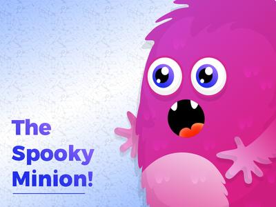 The Spooky Minion ui ux android ios photoshop minion dribbble apptunix