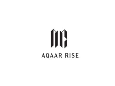Aqaar Rise - real estate logo