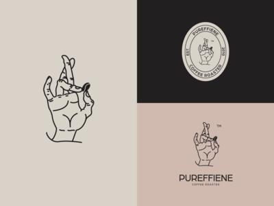 Pureffiene Coffe Roaster Logo.