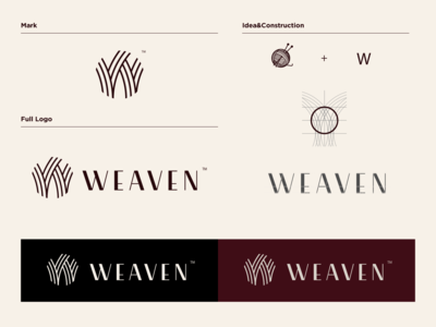 Weaven clothes - Full branding design.