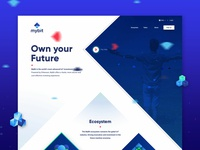 Mybit homepage concept