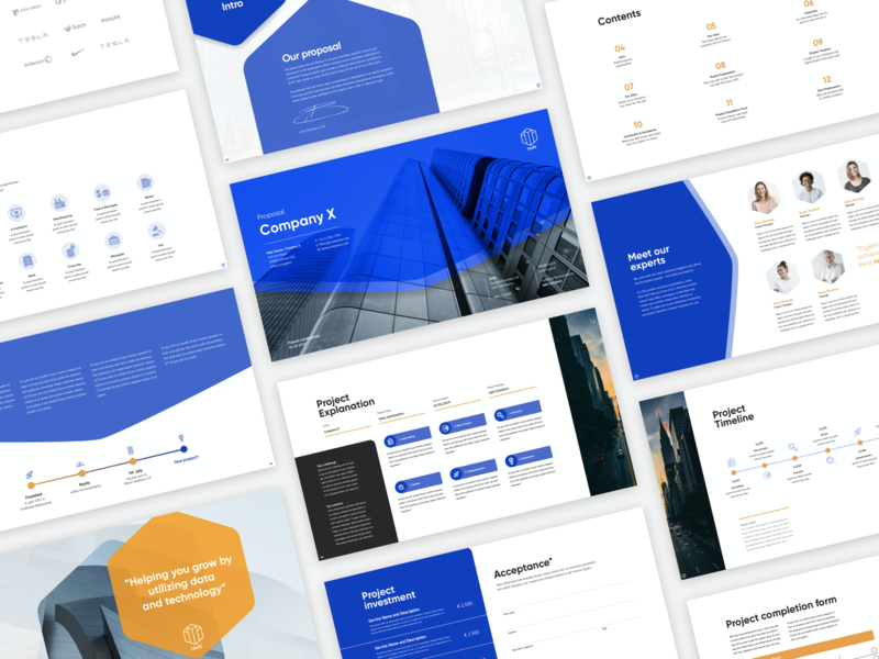 Proposal template for client