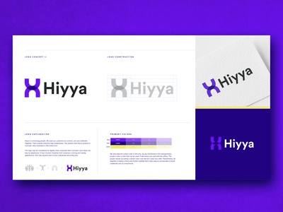 Hiyya -  Logo concept II