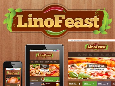 Linofeast Restaurant restaurant wordpress theme cafe hotel food