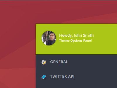 Theme Options Panel UI - Beta 3.0 ui options panel options framework wordpress admin