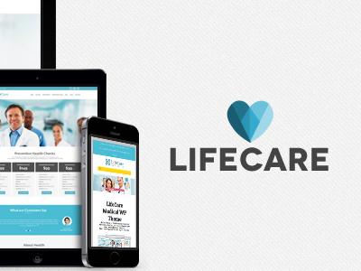 Lifecare WordPress Theme medical wordpress creative logo health