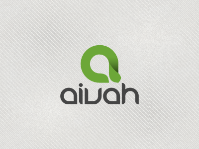 Aivah Logo aivah logo letter a branding