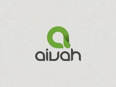 Aivah Logo aivah logo letter a branding