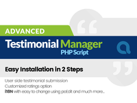 Advanced Testimonials Manager