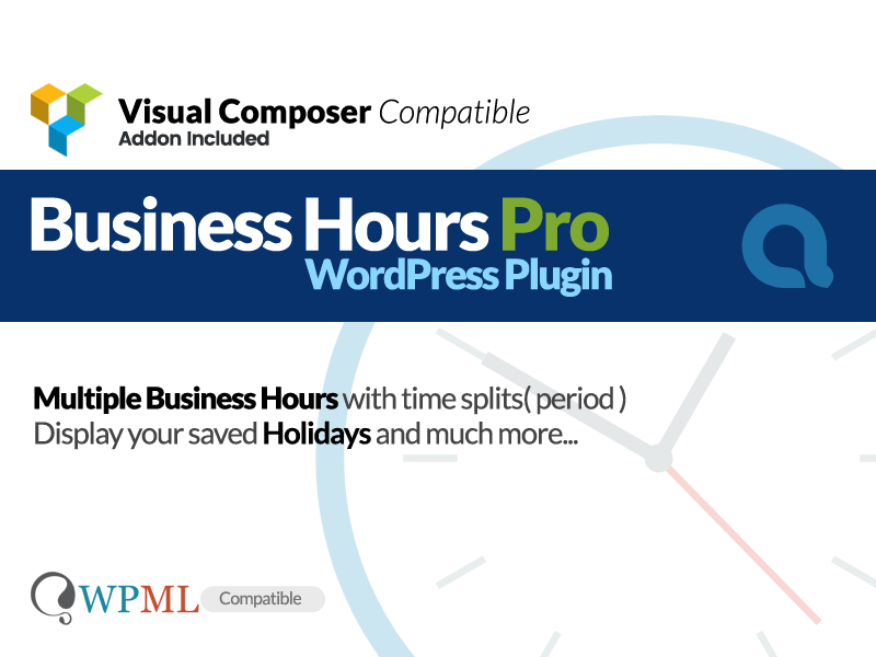 Business Hours Pro WordPress Plugin wordpress plugin timings time period time display store hours shop hours opening hours office timings business hours