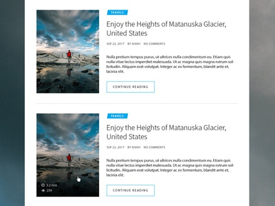 Blog Post List Style magazine wordpress list style post blog blog post