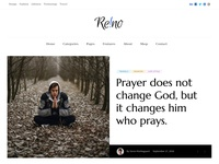 Reino - Personal Magazine Home header slider homepage magazine