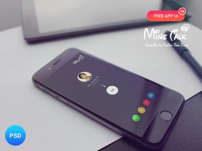 Minetalk App UI