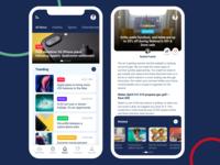 News App UI