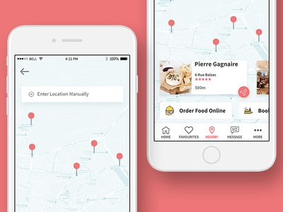 Search Nearby Restaurants